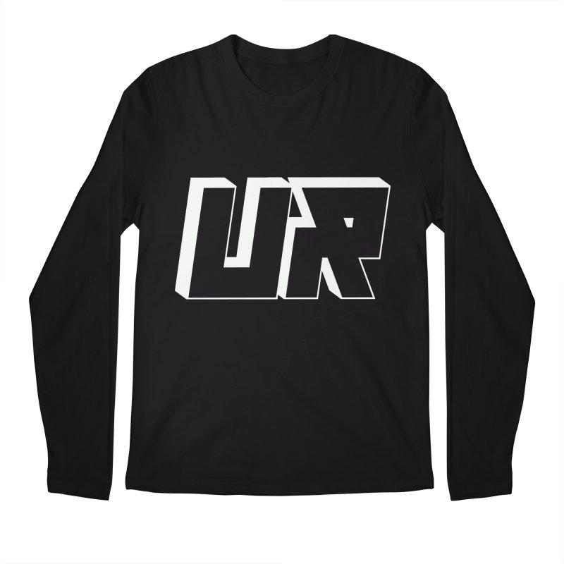 Upper Realm Black Men's Regular Longsleeve T-Shirt by Upper Realm Shop