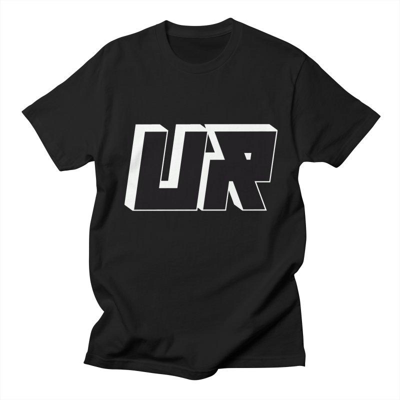 Upper Realm Black Women's Regular Unisex T-Shirt by Upper Realm Shop