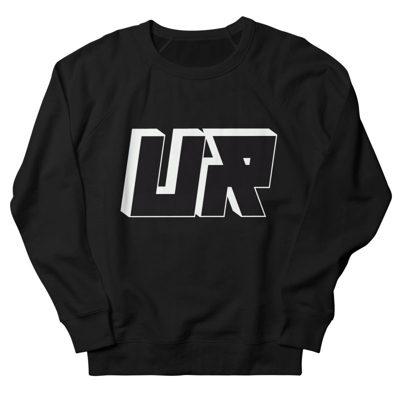 Upper Realm Black Men's French Terry Sweatshirt by Upper Realm Shop