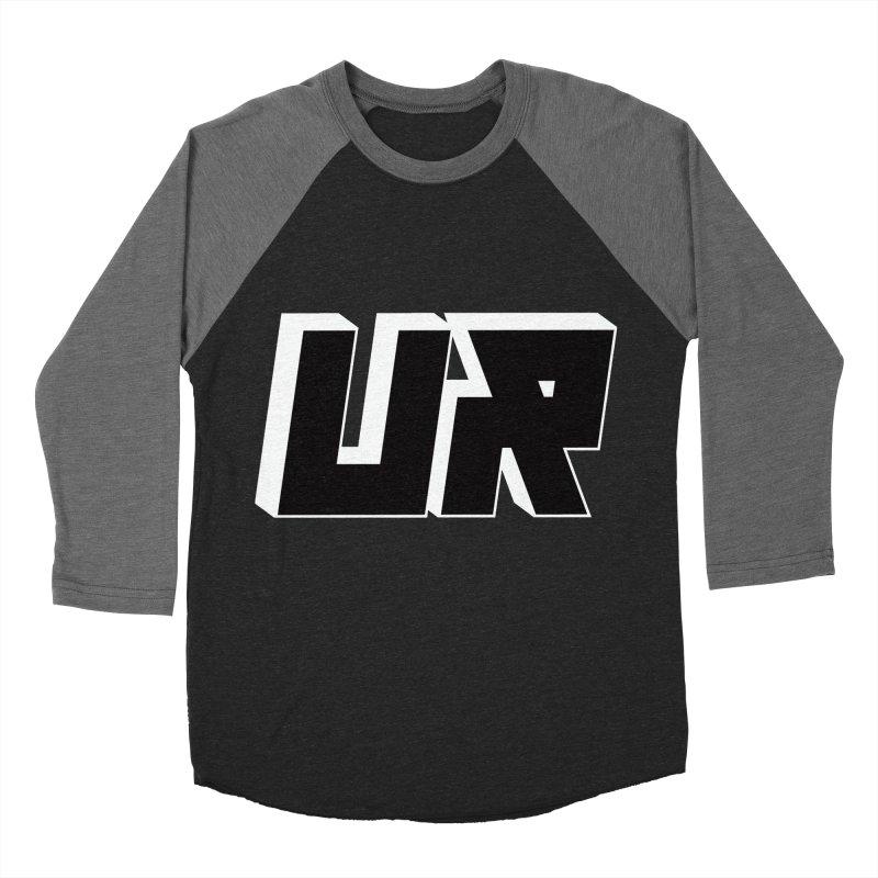 Upper Realm Black Women's Baseball Triblend Longsleeve T-Shirt by Upper Realm Shop