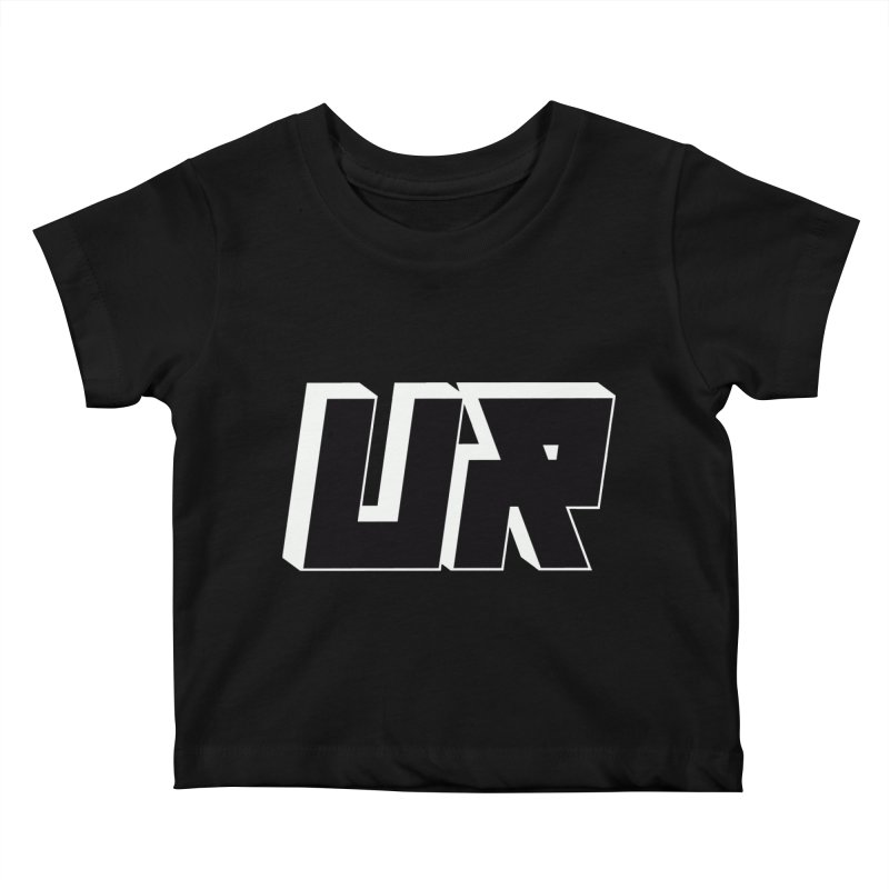 Upper Realm Black Kids Baby T-Shirt by Upper Realm Shop