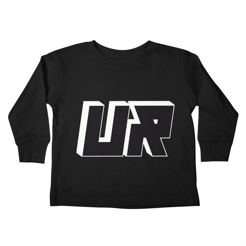 Upper Realm Black Kids Toddler Longsleeve T-Shirt by Upper Realm Shop