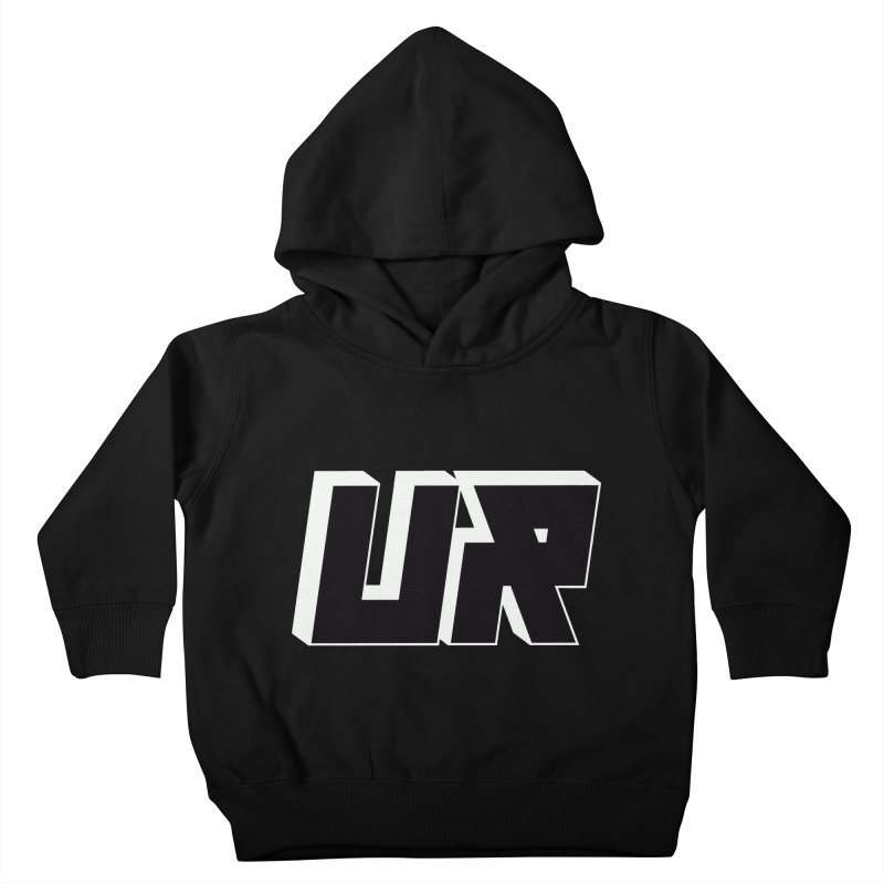 Upper Realm Black Kids Toddler Pullover Hoody by Upper Realm Shop