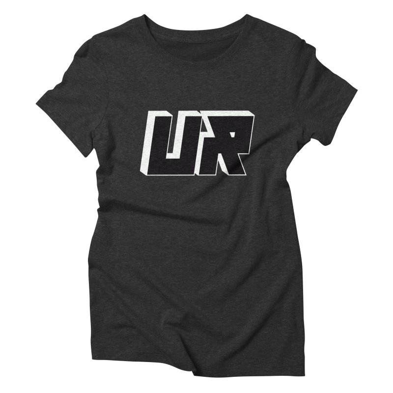 Upper Realm Black Women's Triblend T-Shirt by Upper Realm Shop