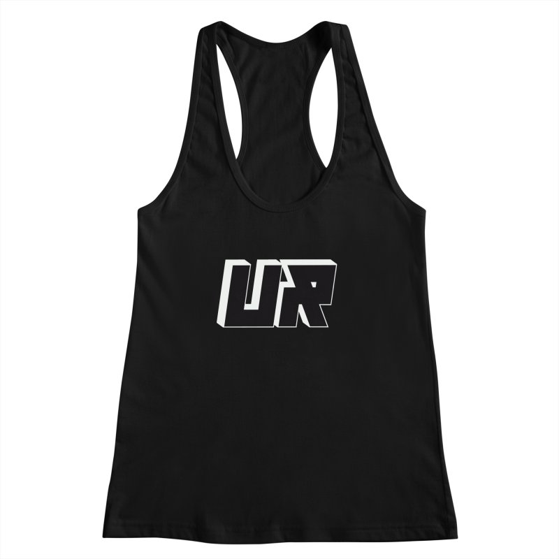 Upper Realm Black Women's Racerback Tank by Upper Realm Shop