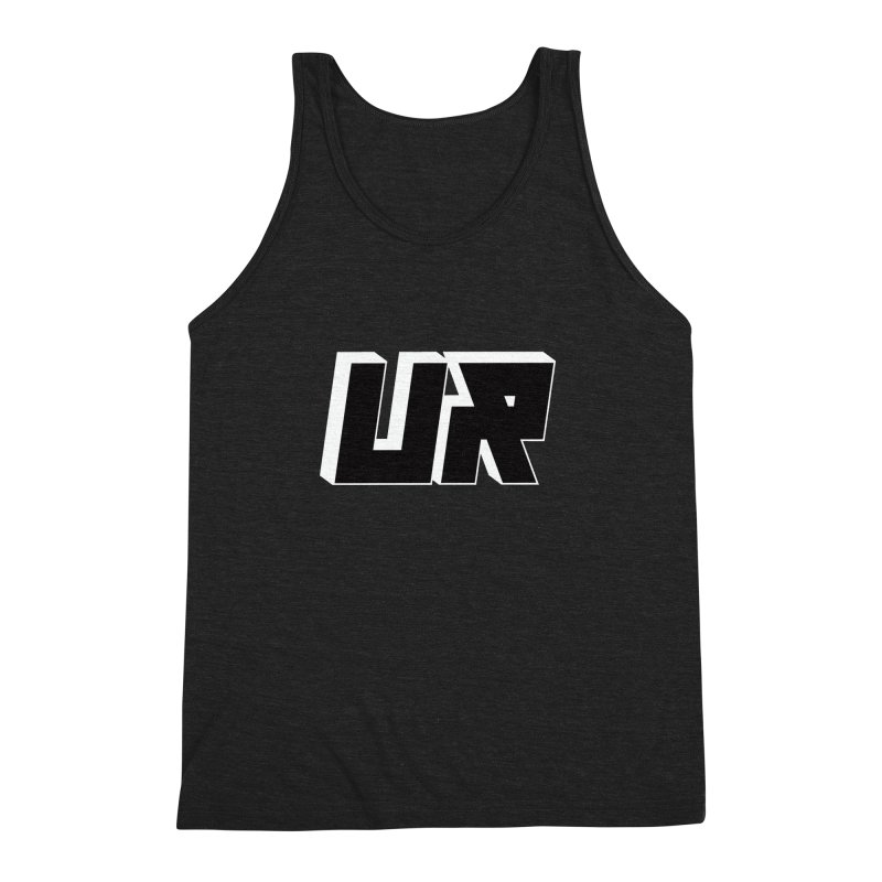 Upper Realm Black Men's Triblend Tank by Upper Realm Shop