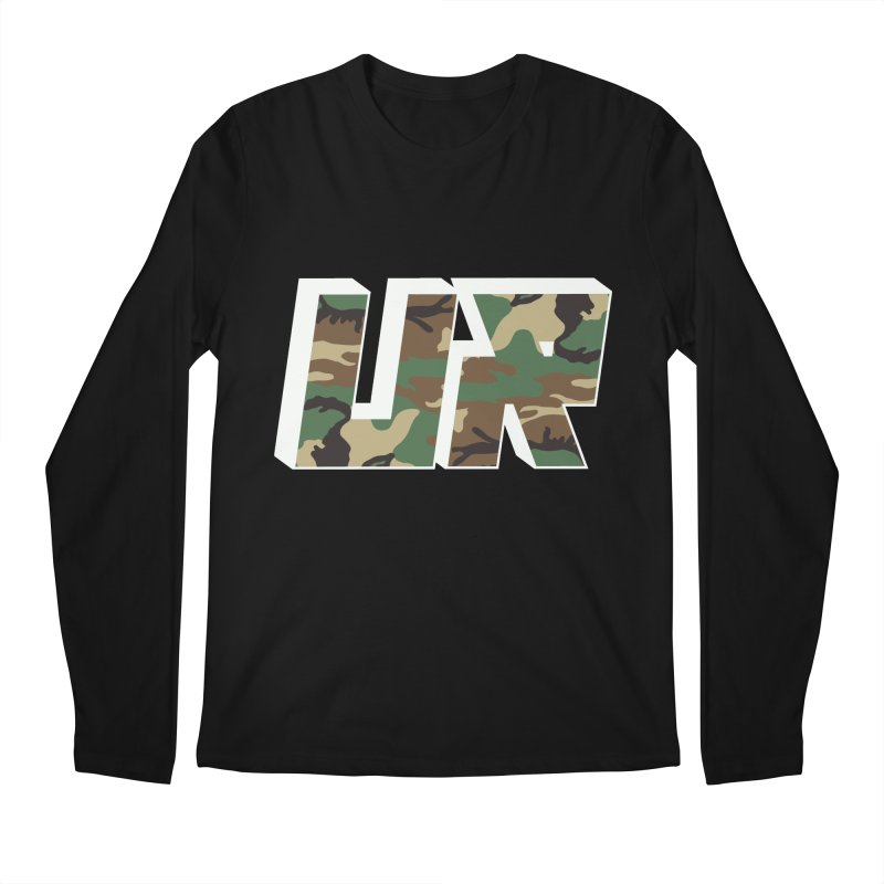 Upper Realm Camo Men's Longsleeve T-Shirt by Upper Realm Shop