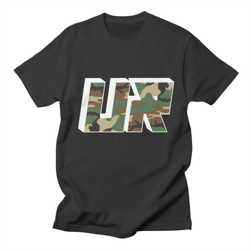 Upper Realm Camo Men's T-Shirt by Upper Realm Shop