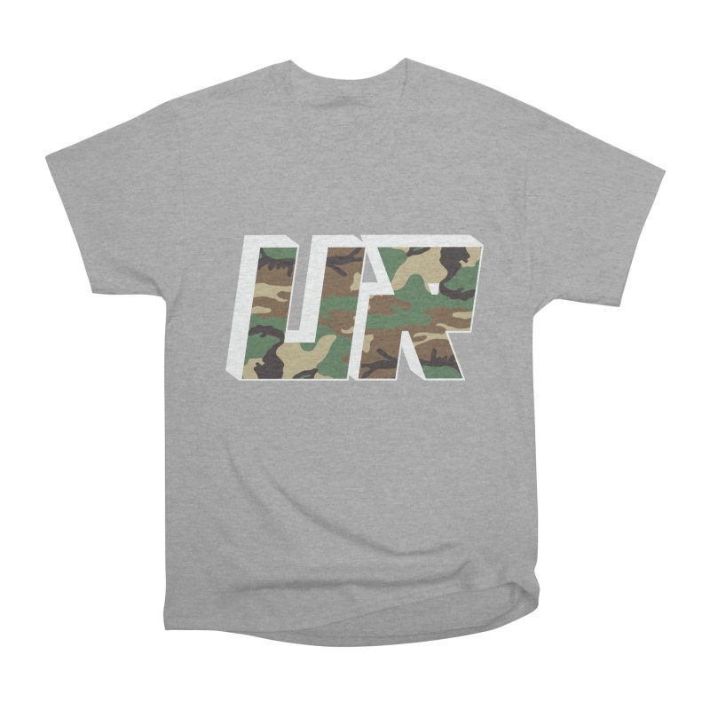 Upper Realm Camo Men's Heavyweight T-Shirt by Upper Realm Shop
