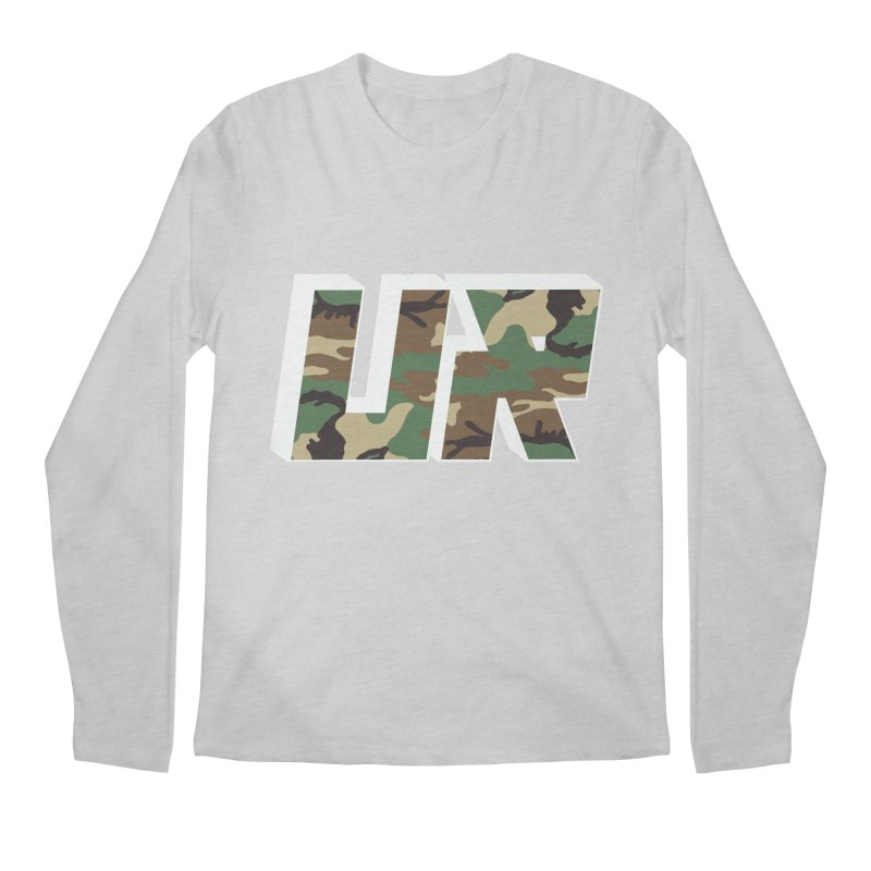 Upper Realm Camo Men's Regular Longsleeve T-Shirt by Upper Realm Shop