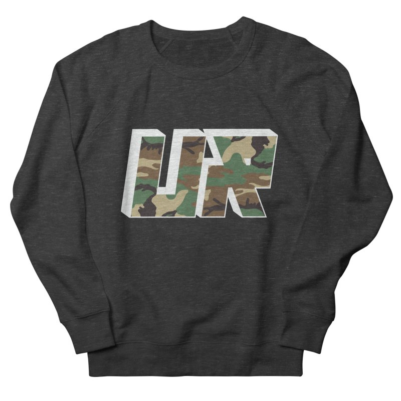 Upper Realm Camo Women's French Terry Sweatshirt by Upper Realm Shop
