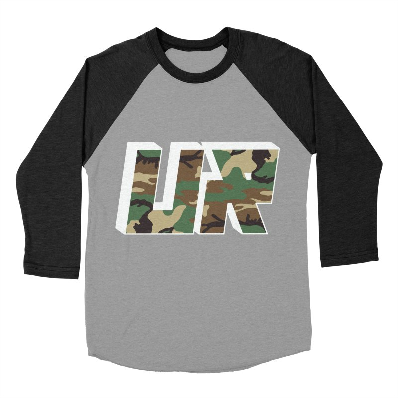 Upper Realm Camo Men's Baseball Triblend Longsleeve T-Shirt by Upper Realm Shop