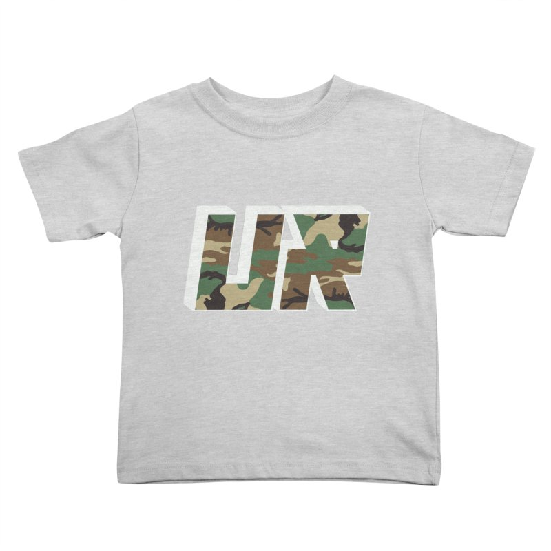 Upper Realm Camo Kids Toddler T-Shirt by Upper Realm Shop