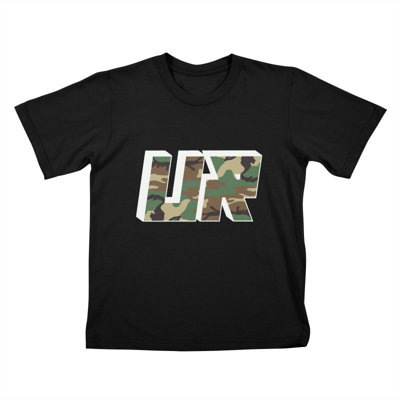 Upper Realm Camo Kids T-Shirt by Upper Realm Shop