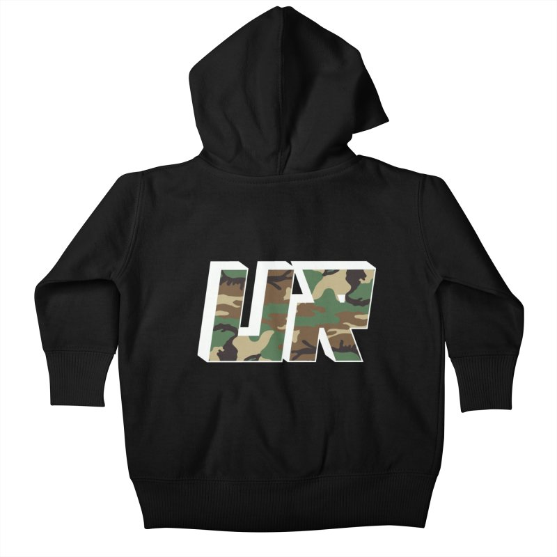 Upper Realm Camo Kids Baby Zip-Up Hoody by Upper Realm Shop