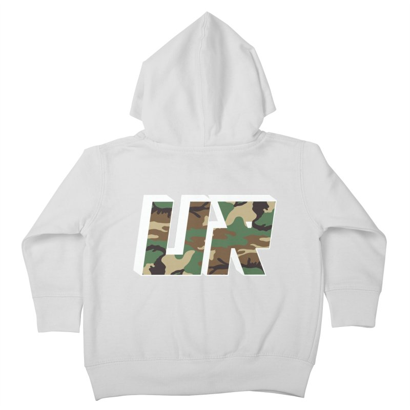 Upper Realm Camo Kids Toddler Zip-Up Hoody by Upper Realm Shop