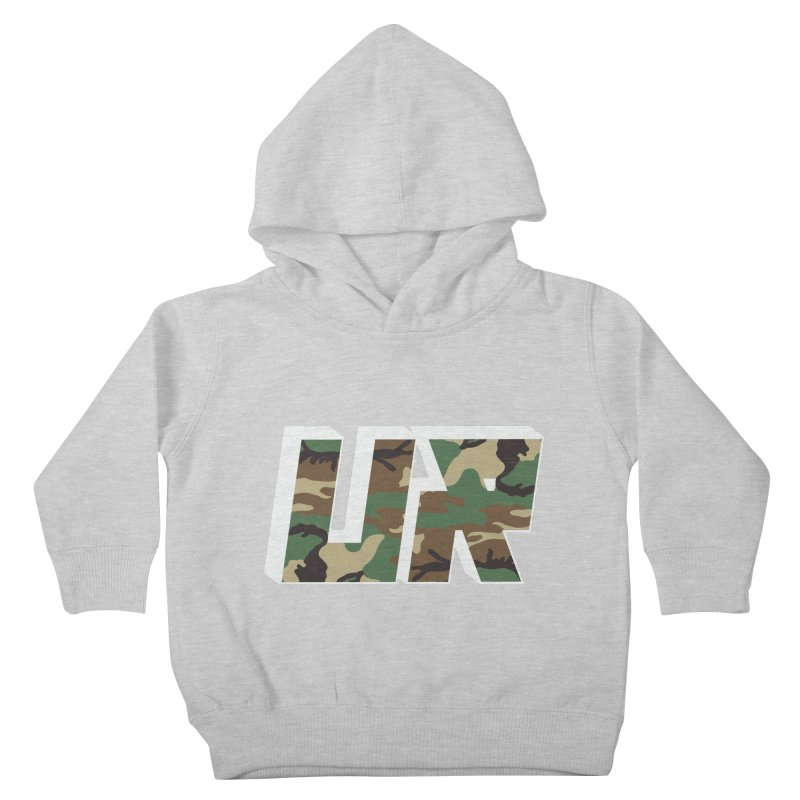Upper Realm Camo Kids Toddler Pullover Hoody by Upper Realm Shop
