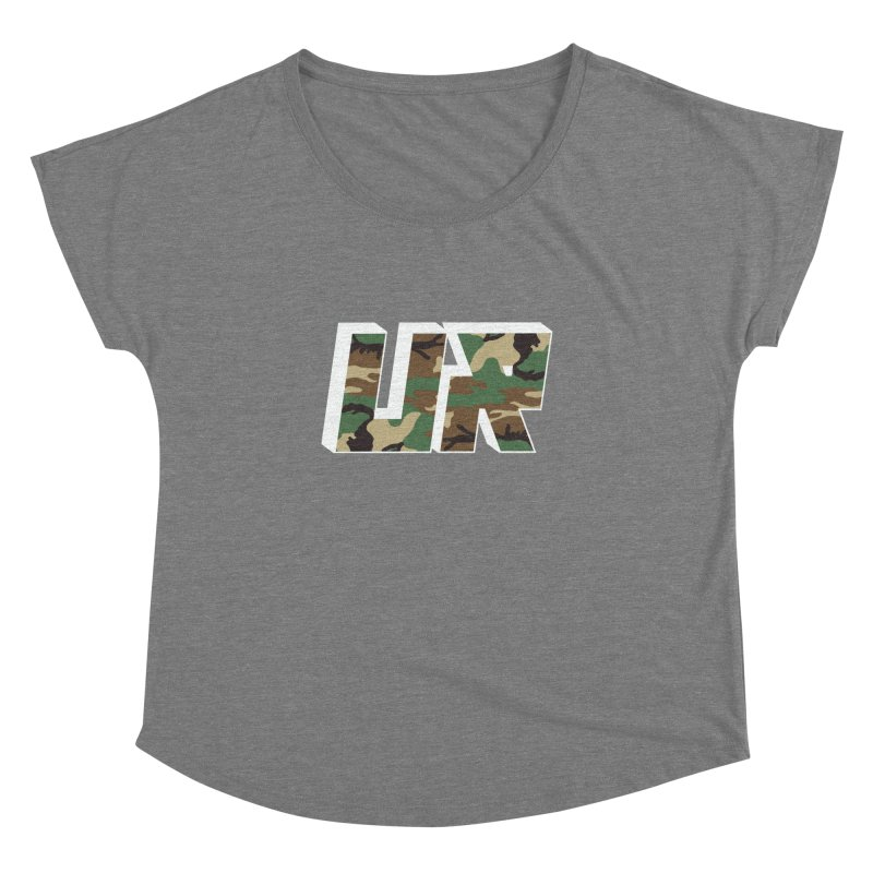 Upper Realm Camo Women's Scoop Neck by Upper Realm Shop