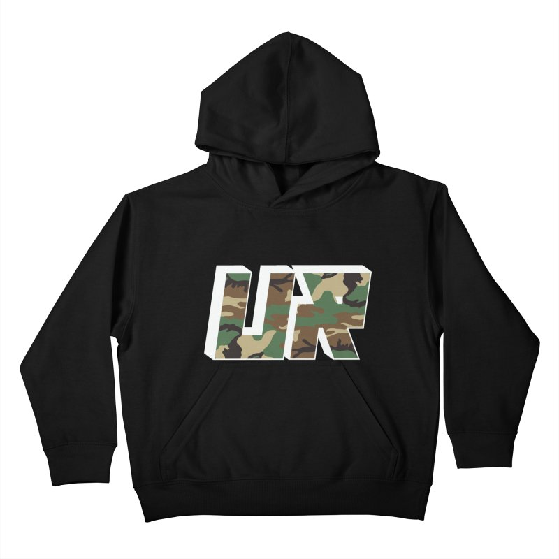 Upper Realm Camo Kids Pullover Hoody by Upper Realm Shop