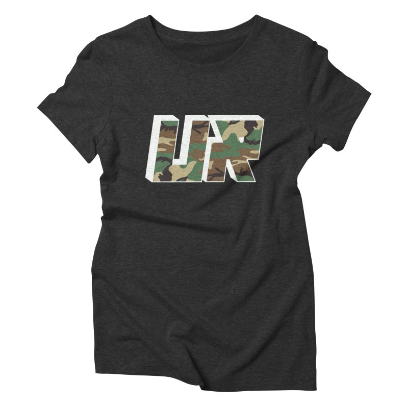 Upper Realm Camo Women's Triblend T-Shirt by Upper Realm Shop