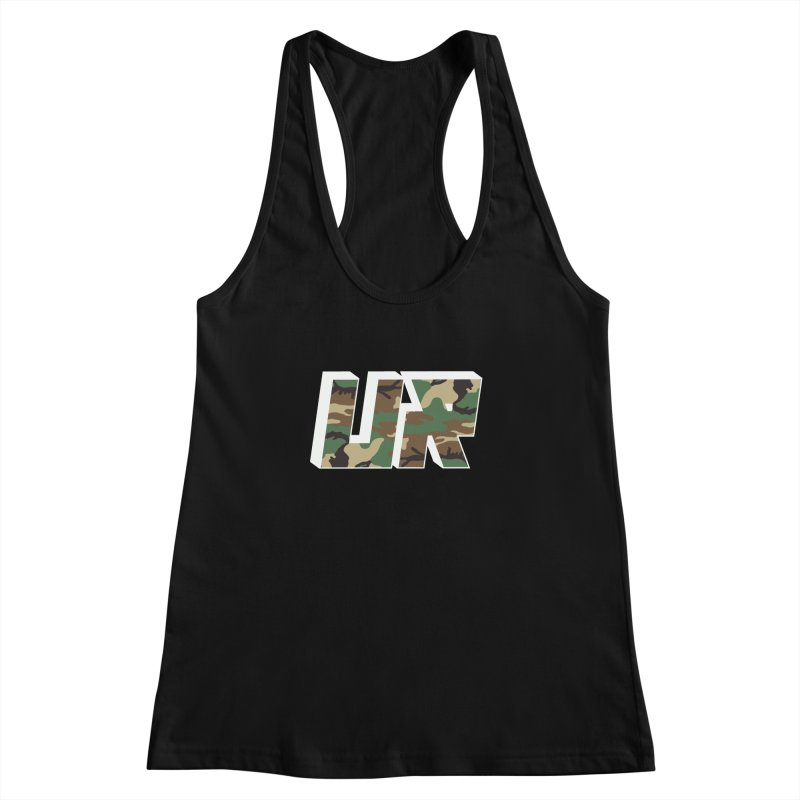Upper Realm Camo Women's Racerback Tank by Upper Realm Shop