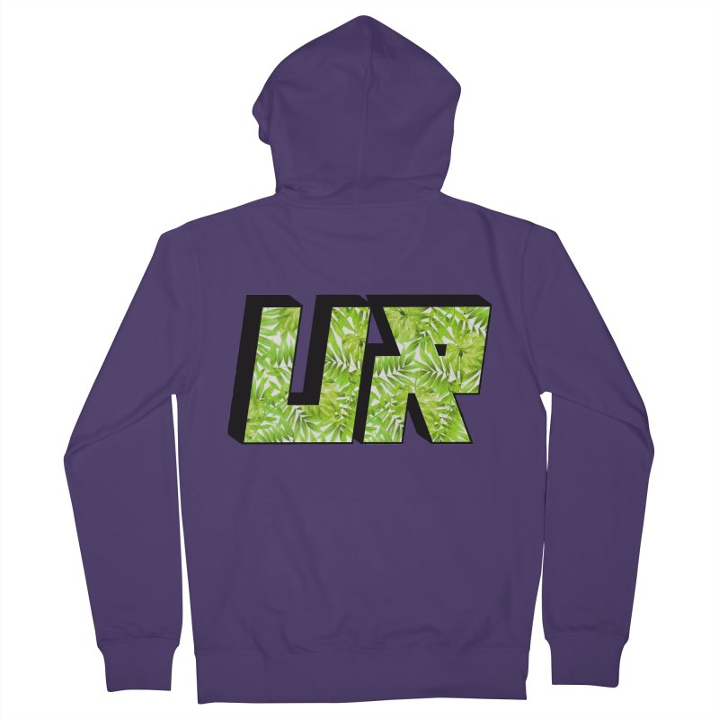 Upper Realm Tropical Women's Zip-Up Hoody by Upper Realm Shop