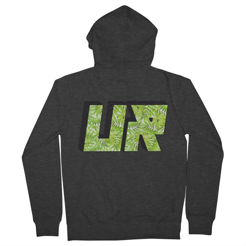 Upper Realm Tropical Women's French Terry Zip-Up Hoody by Upper Realm Shop