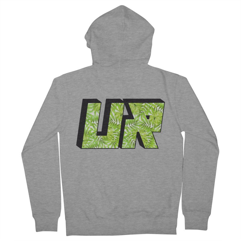 Upper Realm Tropical Men's French Terry Zip-Up Hoody by Upper Realm Shop