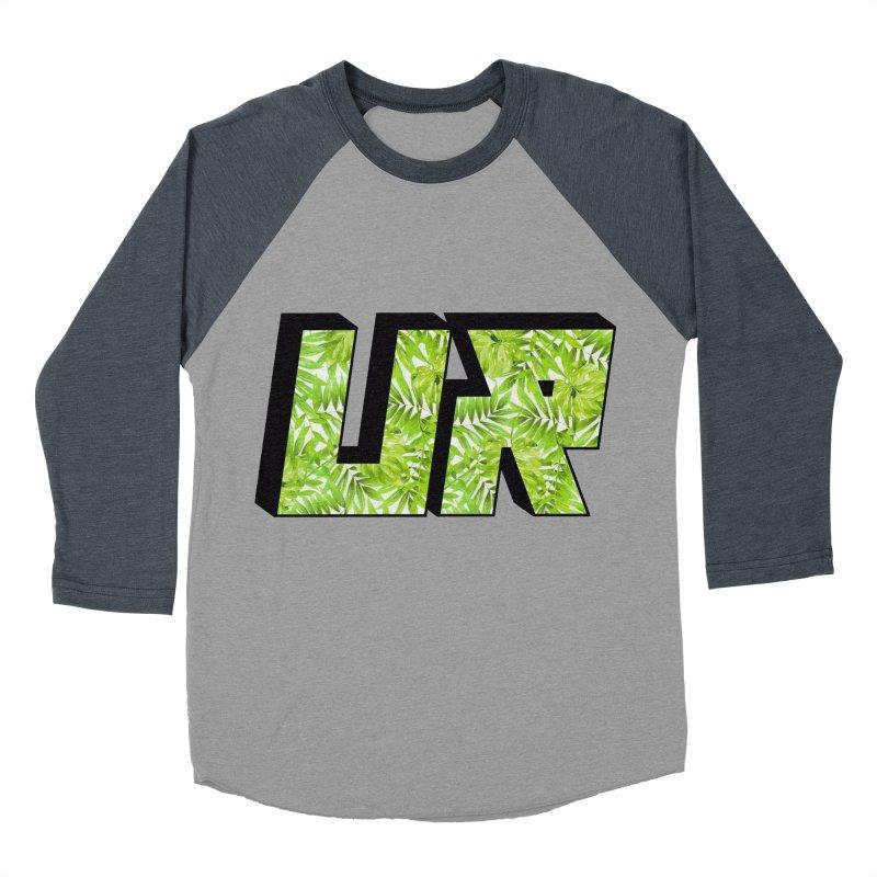 Upper Realm Tropical Men's Baseball Triblend Longsleeve T-Shirt by Upper Realm Shop