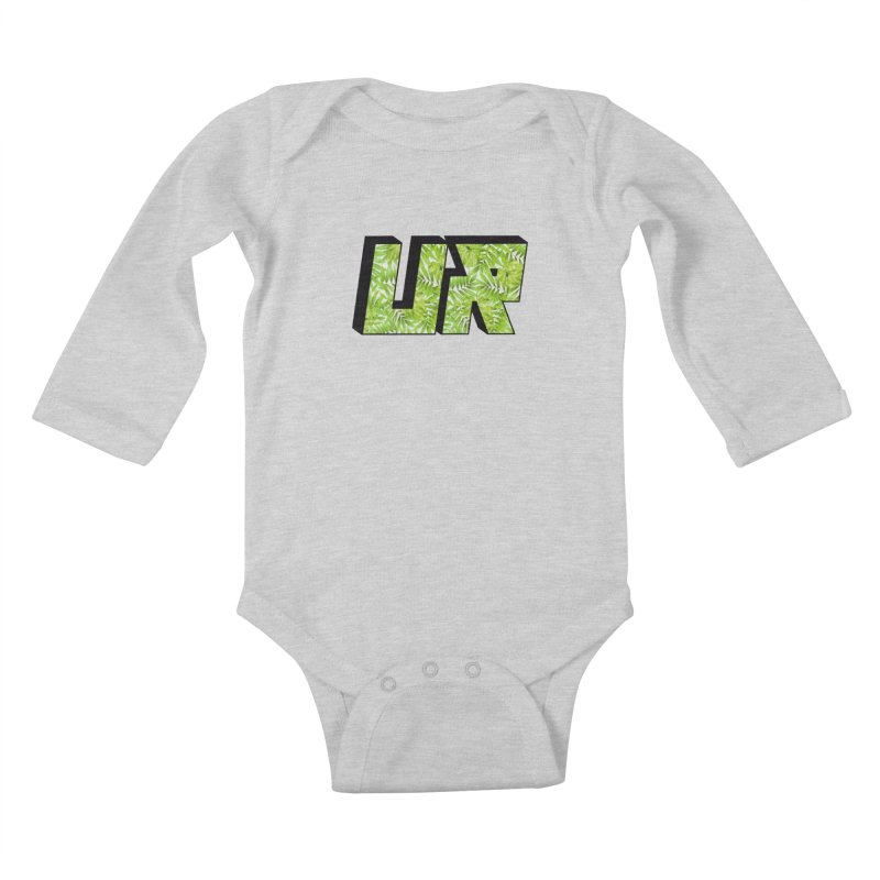 Upper Realm Tropical Kids Baby Longsleeve Bodysuit by Upper Realm Shop