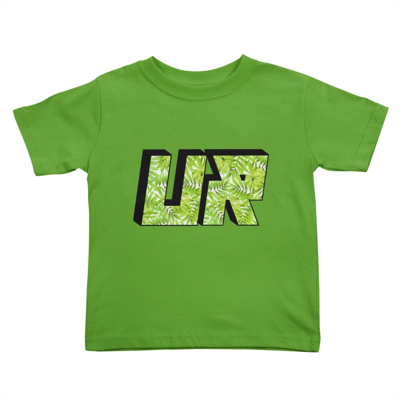 Upper Realm Tropical Kids Toddler T-Shirt by Upper Realm Shop
