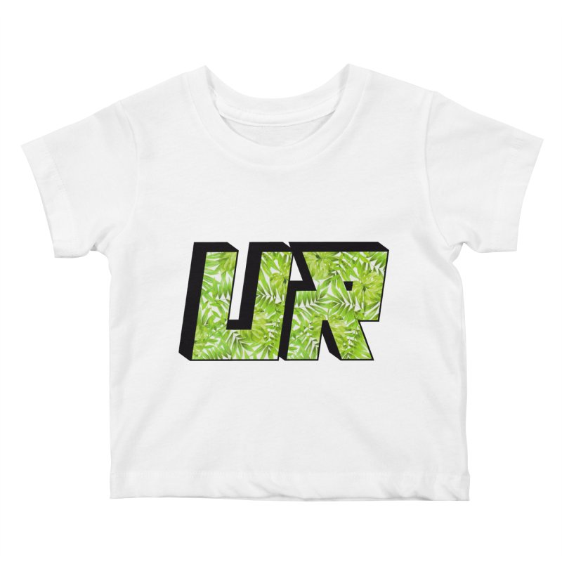 Upper Realm Tropical Kids Baby T-Shirt by Upper Realm Shop