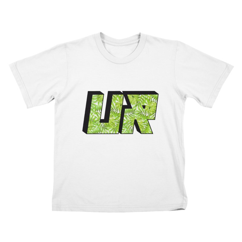 Upper Realm Tropical Kids T-Shirt by Upper Realm Shop