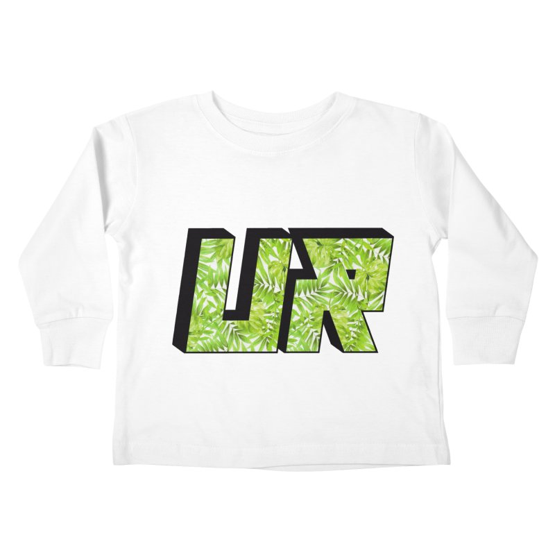 Upper Realm Tropical Kids Toddler Longsleeve T-Shirt by Upper Realm Shop