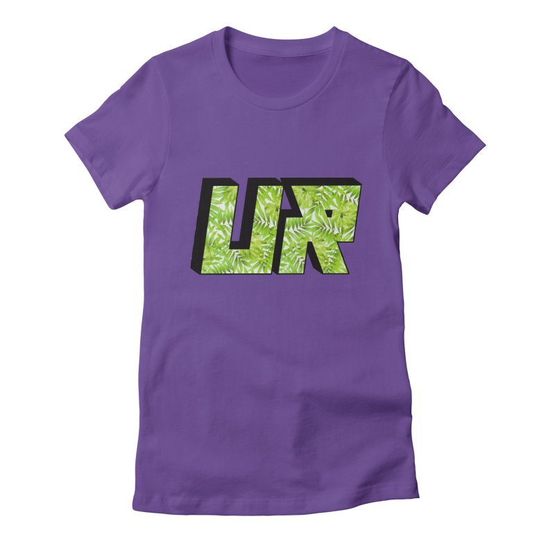 Upper Realm Tropical Women's Fitted T-Shirt by Upper Realm Shop