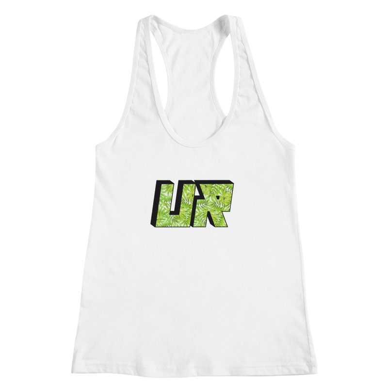 Upper Realm Tropical Women's Racerback Tank by Upper Realm Shop