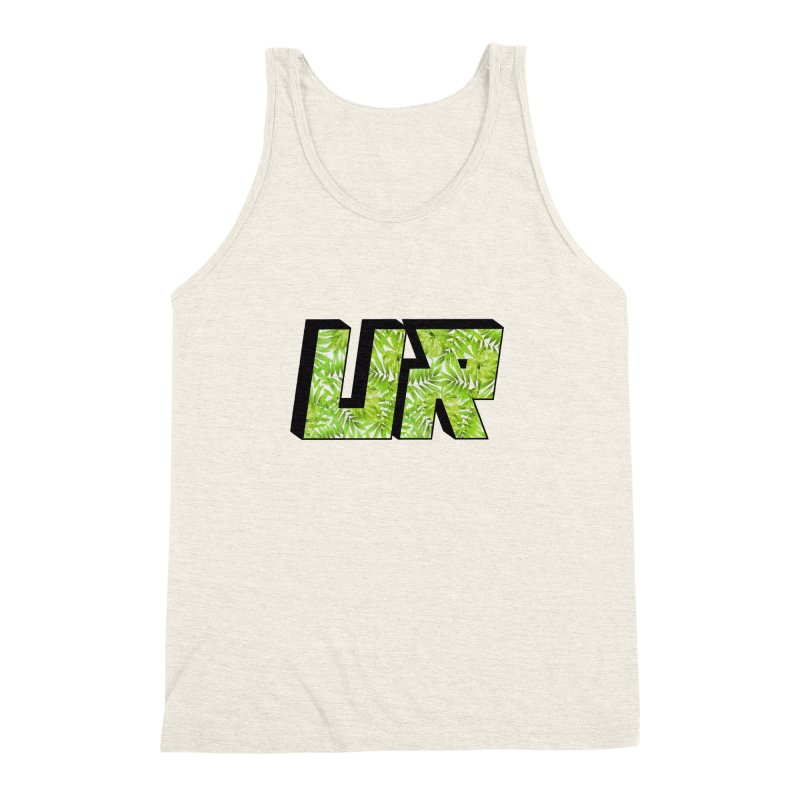 Upper Realm Tropical Men's Triblend Tank by Upper Realm Shop