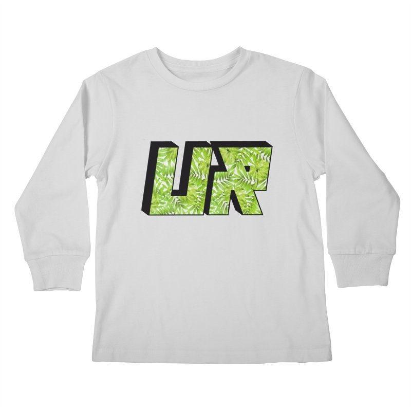 Upper Realm Tropical Kids Longsleeve T-Shirt by Upper Realm Shop