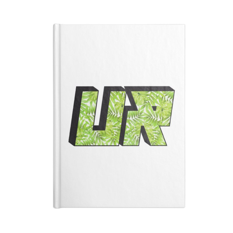 Upper Realm Tropical Accessories Lined Journal Notebook by Upper Realm Shop