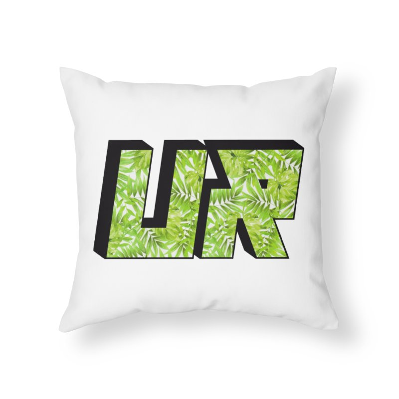 Upper Realm Tropical Home Throw Pillow by Upper Realm Shop