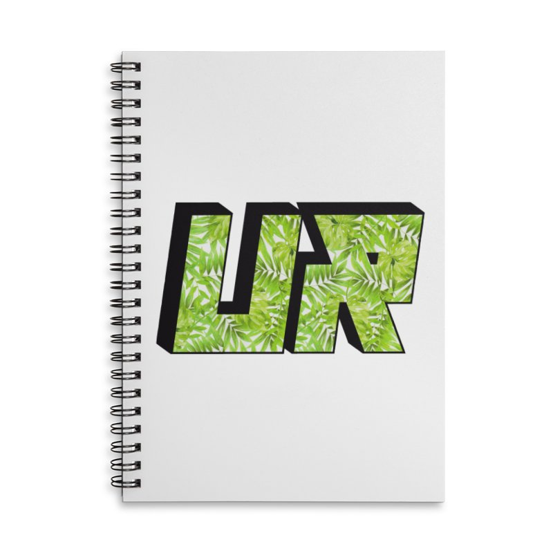 Upper Realm Tropical Accessories Lined Spiral Notebook by Upper Realm Shop