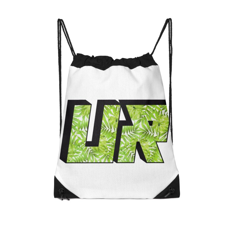 Upper Realm Tropical Accessories Drawstring Bag Bag by Upper Realm Shop