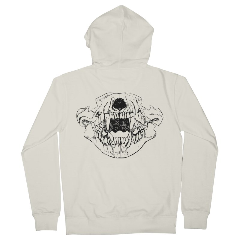 Bear Jaw Men's French Terry Zip-Up Hoody by Upper Realm Shop