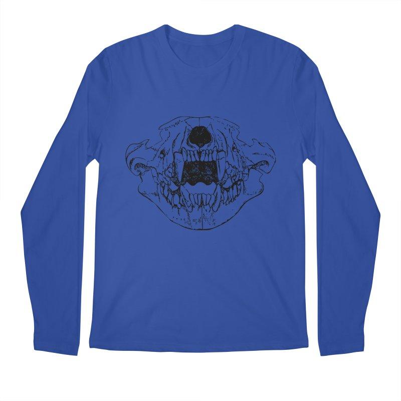 Bear Jaw Men's Regular Longsleeve T-Shirt by Upper Realm Shop