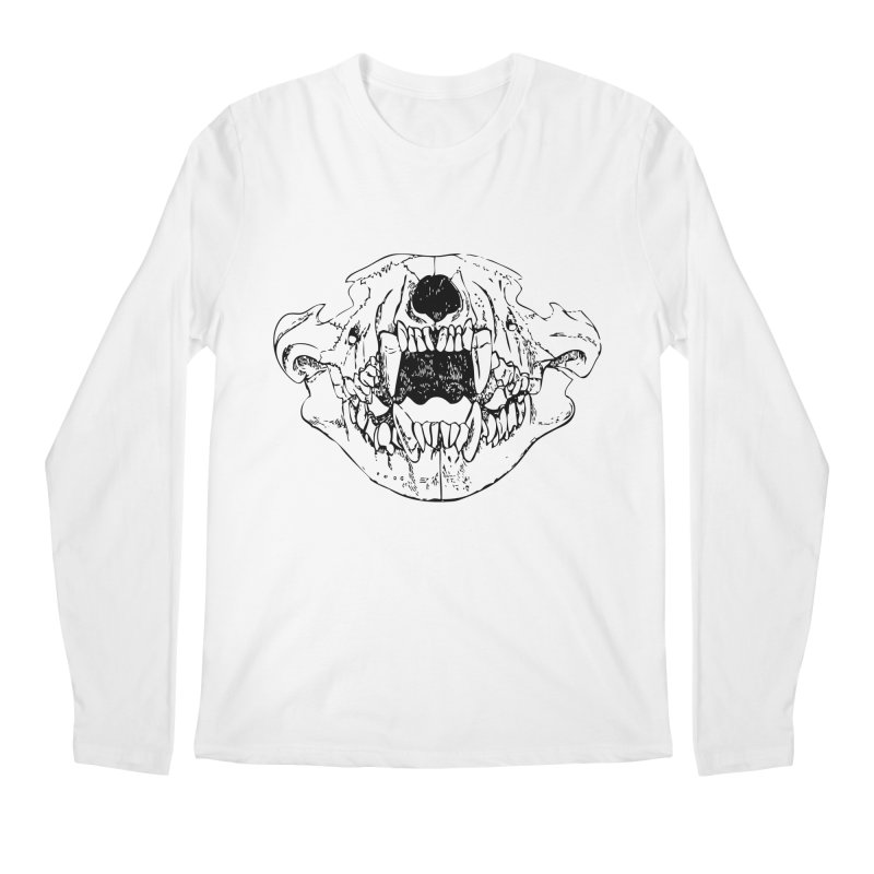 Bear Jaw Men's Regular Longsleeve T-Shirt by Upper Realm Shop
