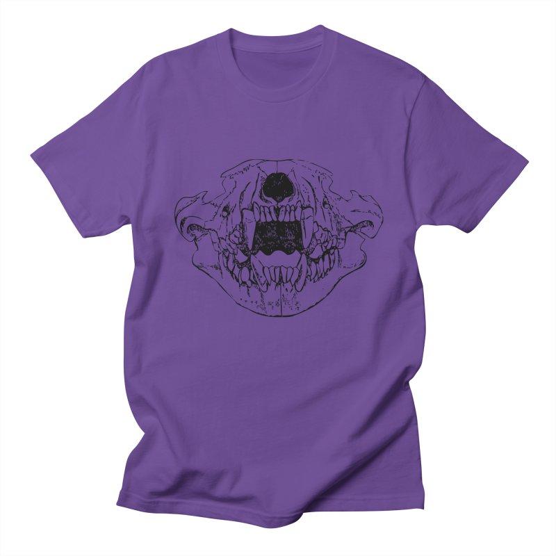 Bear Jaw Men's Regular T-Shirt by Upper Realm Shop
