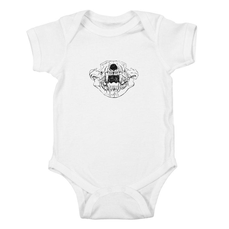 Bear Jaw Kids Baby Bodysuit by Upper Realm Shop