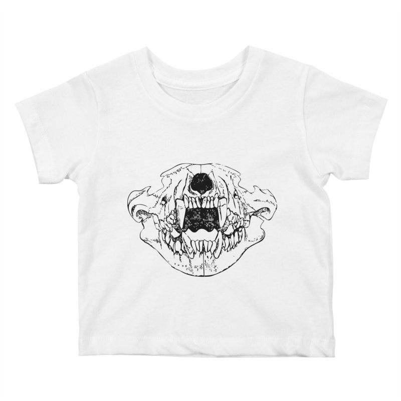 Bear Jaw Kids Baby T-Shirt by Upper Realm Shop
