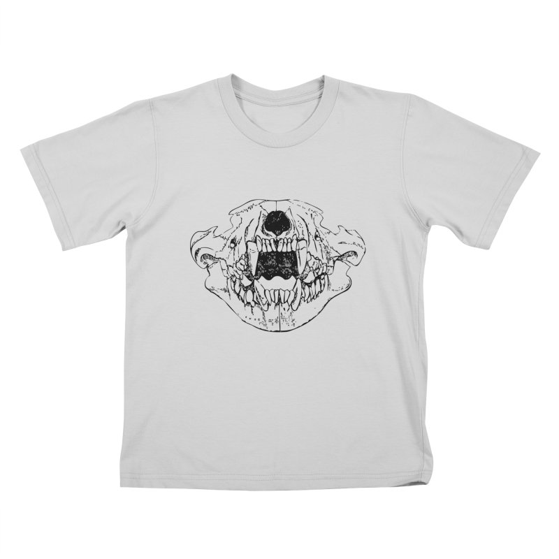 Bear Jaw Kids T-Shirt by Upper Realm Shop