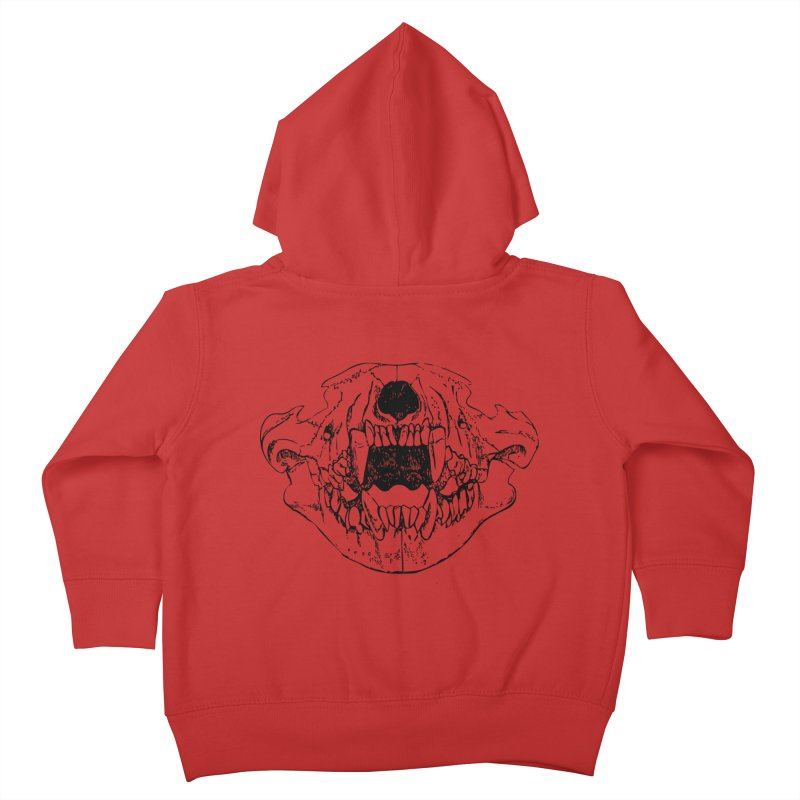 Bear Jaw Kids Toddler Zip-Up Hoody by Upper Realm Shop